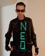 Neo from The Matrix Homemade Costume