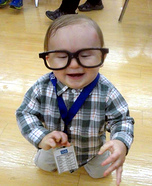 Nerd Baby Homemade Costume