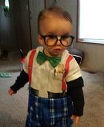 Nerd Baby Homemade Costume