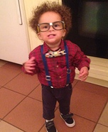 DIY baby costume ideas: Nerd Baby Costume