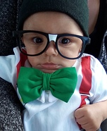 Nerd Baby Halloween Costume Idea