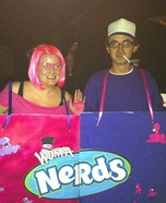 Nerds Homemade Couple Costume