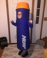Nerf Dart Homemade Costume