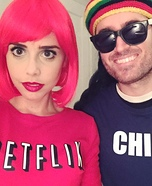 Netflix and Chill Homemade Costume
