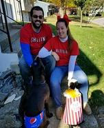 Netflix and Chill Homemade Costume