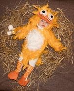 New Born Bird Homemade Costume
