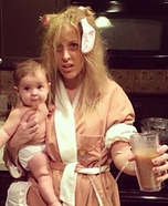 New Mom Homemade Costume