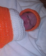 Newborn Candy Corn Costume