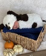 Newborn Puppy Homemade Costume