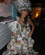 Newspaper Lady Homemade Costume
