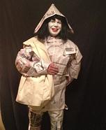 Newspaper Man Homemade Costume
