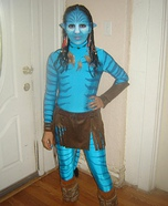 Homemade Neytiri Costume