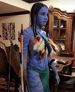 Neytiri Avatar Homemade Costume