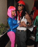 Nicki Minaj and Lil Wayne Homemade Costumes