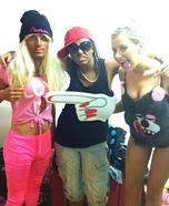 Nicki Minaj, Lil Wayne and Miley Cyrus Homemade Costume
