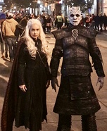 Night King and Mother of Dragons Homemade Costume