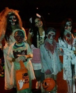 Night of the Living Dead Family Costume