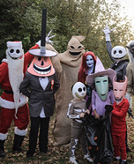 Nightmare Before Christmas Homemade Costume