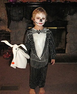 Nightmare Before Christmas Jack Homemade Costume