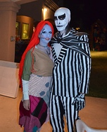 Nightmare Before Christmas Jack and Sally Homemade Costume