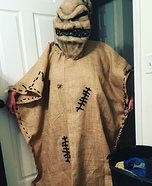 Nightmare Before Christmas Oogie Boogie Man Costume