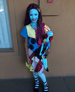 Nightmare Before Christmas Sally Homemade Costume