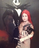 Nightmare Before Christmas Sally and Jack Homemade Costume