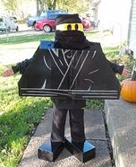 Ninja Lego Man Homemade Costume