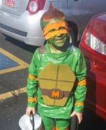 Ninja Turtle Michelangelo Homemade Costume