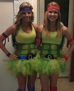 Creative DIY Costume Ideas for Women - Ninja Turtles Costume