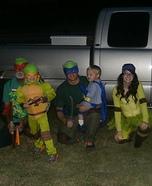 Ninja Turtles Homemade Costume