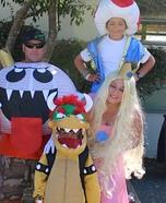 Nintendo Family Homemade Costume