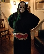 No Face Homemade Costume