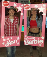 No Sammich Barbie and Hungry Ken Homemade Costume