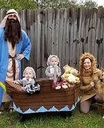 Noah's Arc Family Homemade Costume