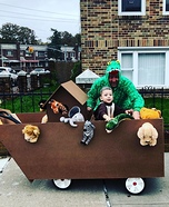 Noah's Ark Homemade Costume