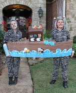 Noah's Ark with Zebras Homemade Costume