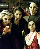 Nosferatu and Family of Blood Suckers Homemade Costume