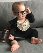 Notorious RBG Baby Homemade Costume