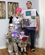 Nuclear Family Homemade Costume