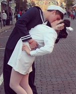 Nurse and Sailor Homemade Costume
