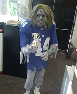 NY Giants Zombie Homemade Costume
