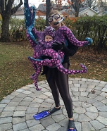 Parent and baby costume ideas - DIY Octopus Baby Costume