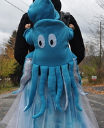 Octopus Swimming in the Ocean Homemade Halloween Costume