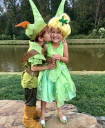 Off to Neverland Homemade Costume