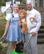 Off To See The Wizard Family Homemade Costume