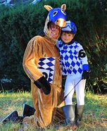 Off to the Races Homemade Costume