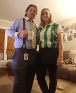 Office Space Bill Lumberg & Joanna Homemade Costume