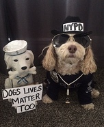 Officer Charlie in charge Homemade Costume