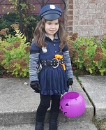 Officer Riley - Law and Cuteness Homemade Costume
